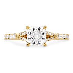 Cali Chic DRM Rope Split Shank Engagement Ring