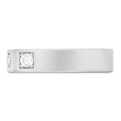 Distinguished Diamond Ring Sandblast