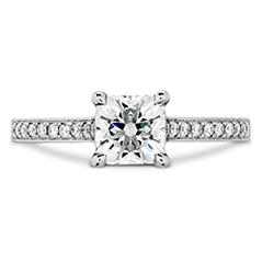 Illustrious Dream Engagment Ring-Diamond Intensive Band