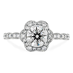 Lorelei Floral Engagement Ring