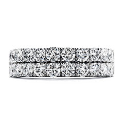 Truly Classic Double-Row Wedding Band