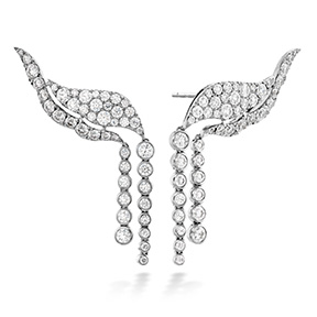 Lorelei Fringe Diamond Ear Cuff