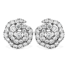 Lorelei Diamond Floral Earrings