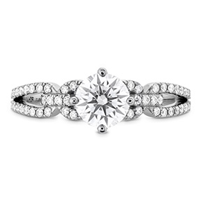 Brielle Engagement Ring - Diamond Intensive