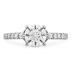 Cali Chic Double Petal Engagement Ring