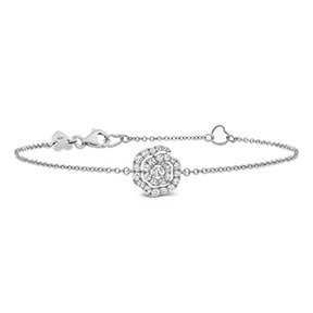 Lorelei Diamond Floral Bracelet