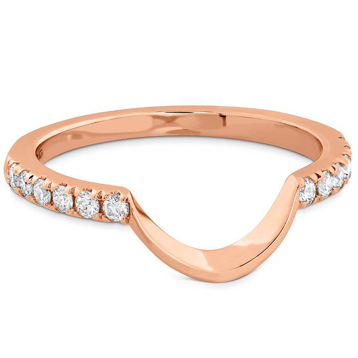 Delight Lady Di Curved Diamond Band
