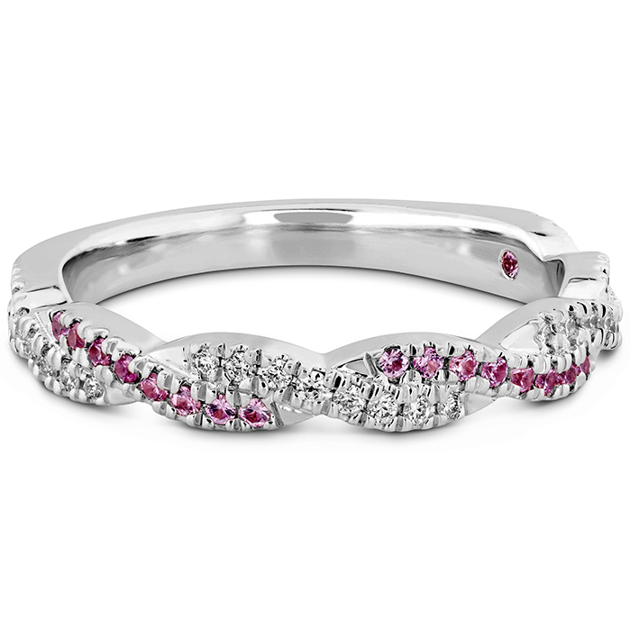 Harley Go Boldly Braided Power Band with Sapphires