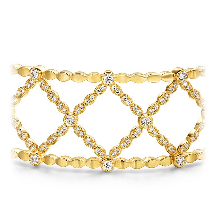 Lorelei Lattice Diamond Bangle