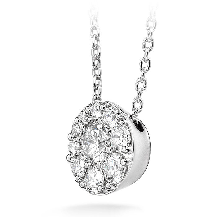 Tessa Diamond Circle Pendant